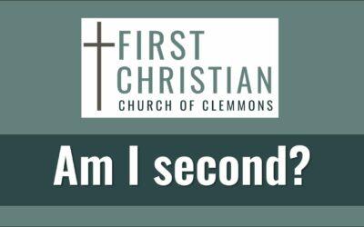 Am I Second?