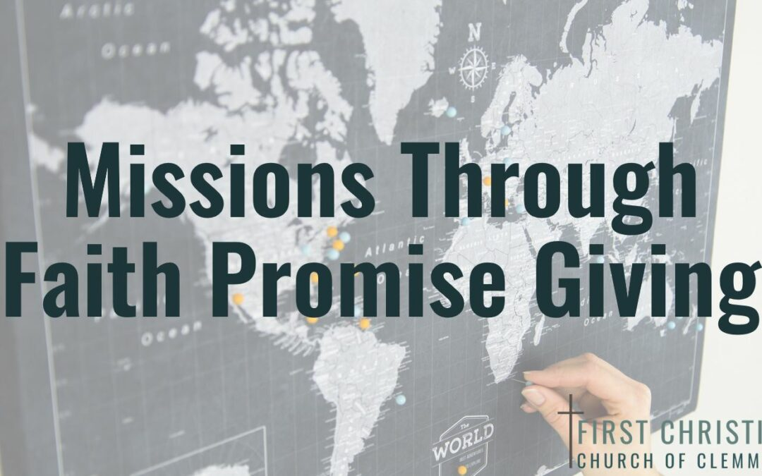 Missions Through Faith Promise Giving
