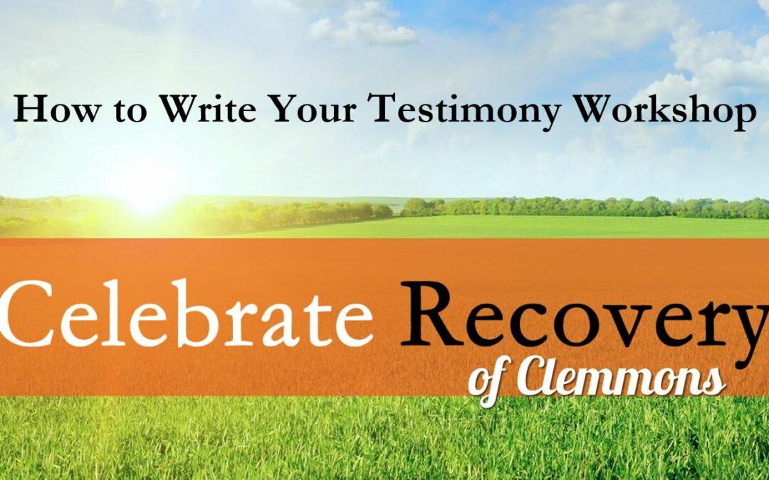 How to Write Your Testimony