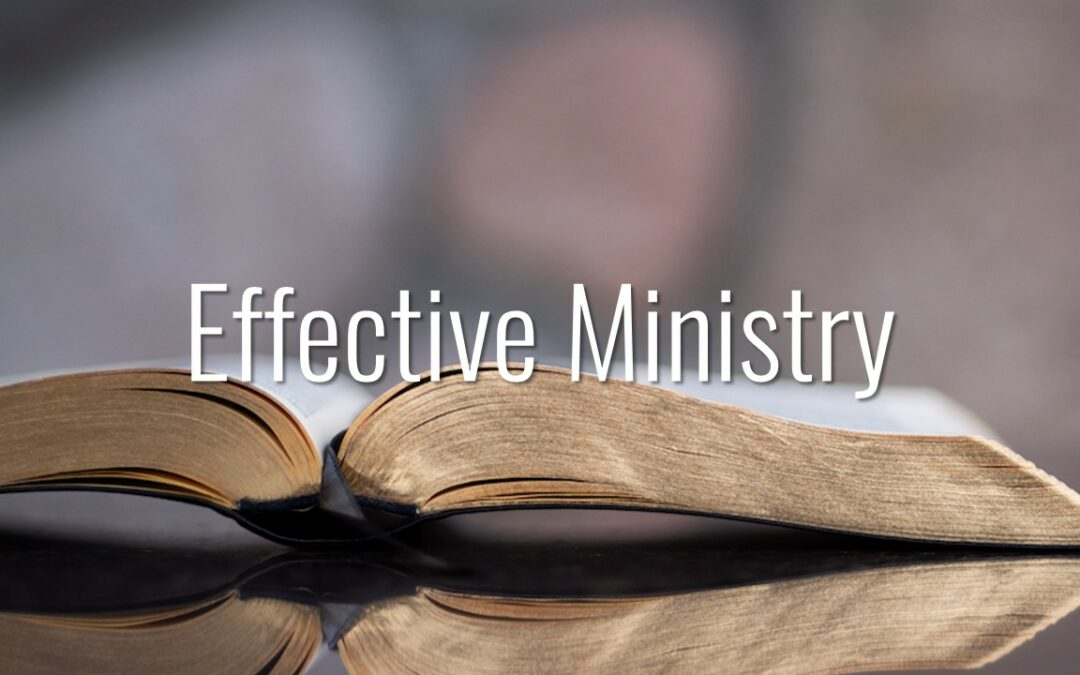 effective ministry