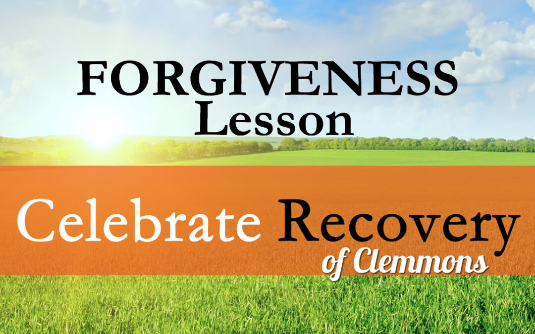 Forgiveness Lesson