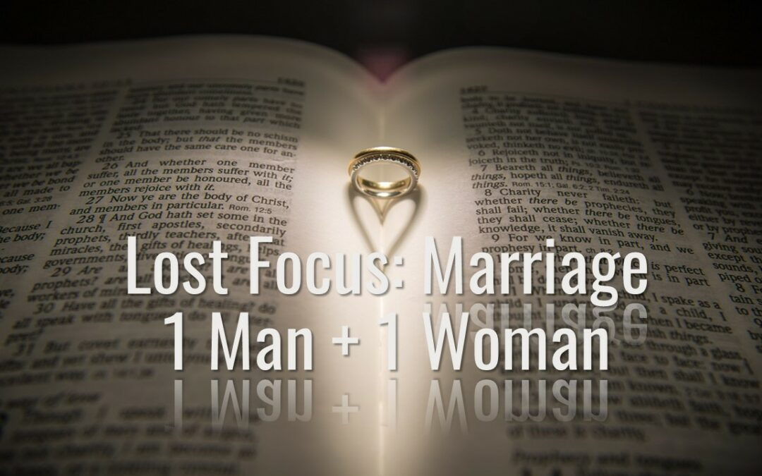 Lost Focus: Marriage