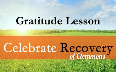 Gratitude Lesson